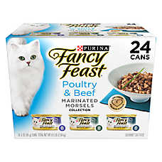 Fancy Feast® Marinated Morsels Poultry & Beef Variety Pack for Cats