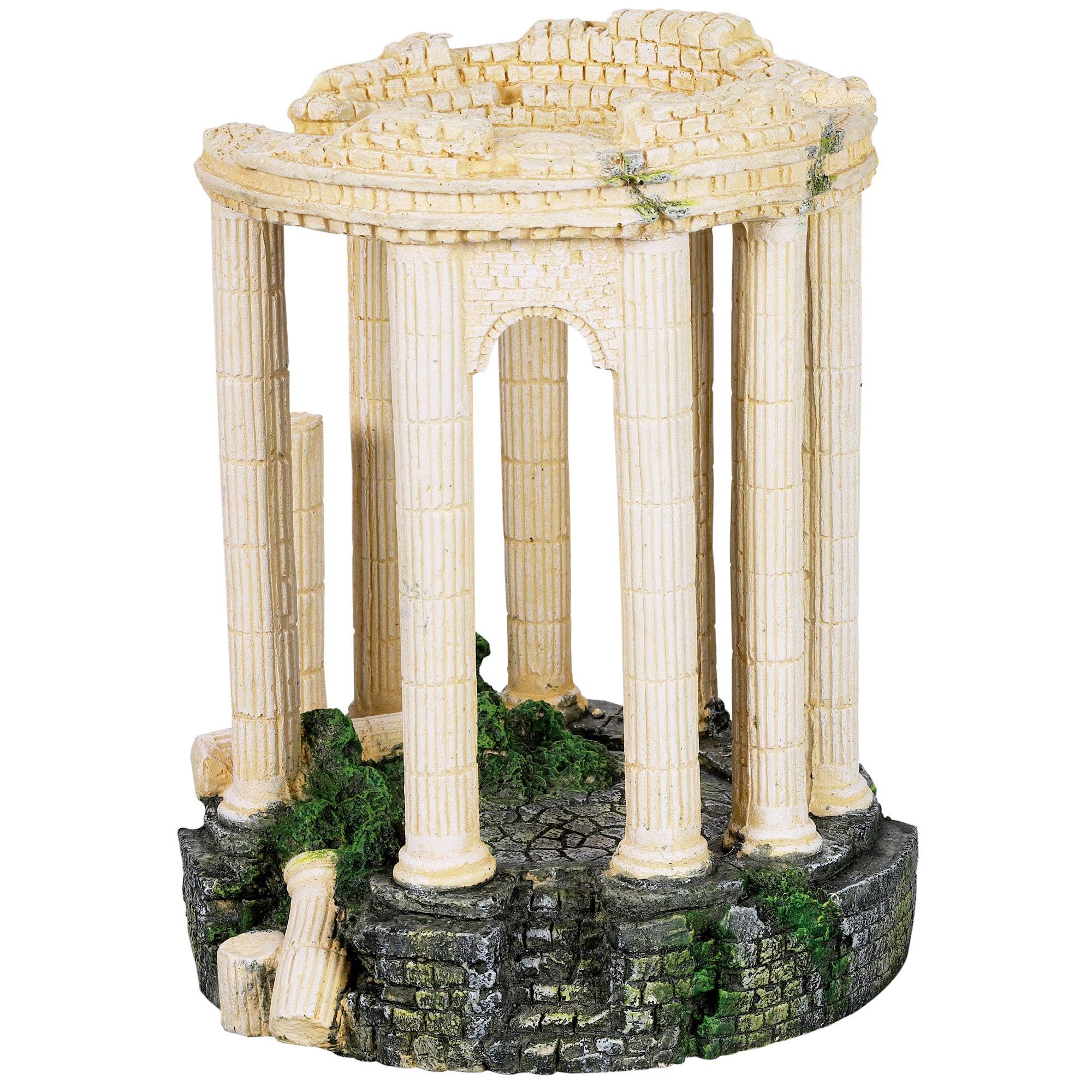 Top Fin® Roman Sanctuary Bubbler Aquarium Ornament
