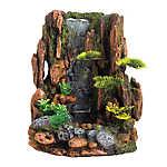 Top Fin® Mountain Cliff Waterfall Aquarium Ornament