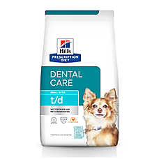 Hill's® Prescription Diet® t/d Dental Care Small Bites Dog Food - Chicken