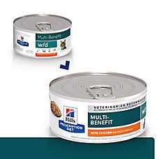 Hill's® Prescription Diet® w/d Digestive/Weight Management Cat Food - Chicken