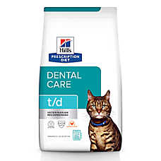 Hill's® Prescription Diet® t/d Dental Care Cat Food - Chicken