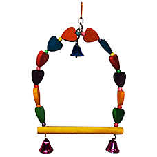 All Living Things® Heart Bird Swing
