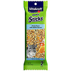 Vitakraft® Crunch Sticks Honey & Calcium Chinchilla Treat