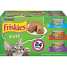 Purina® Friskies® Classic Pate Cat Food - Variety Pack, 24ct