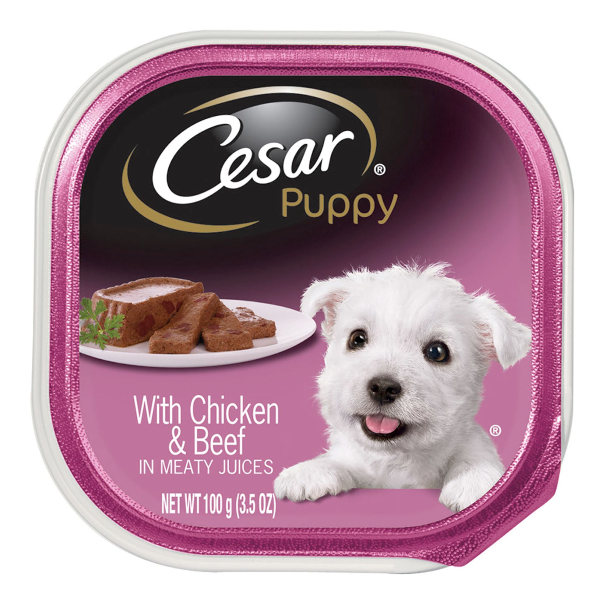 Cesar® Canine Cuisine Puppy Food - Chicken & Beef | dog Canned Food |  PetSmart
