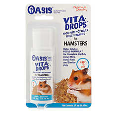 Oasis Vita Drops High Potency Multivitamins Small Animal Supplement