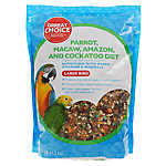 Grreat Choice® Parrot, Macaw, Amazon and Cockatoo Diet Bird Food