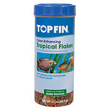 Top Fin® Tropical-Enhancing Fish Flakes