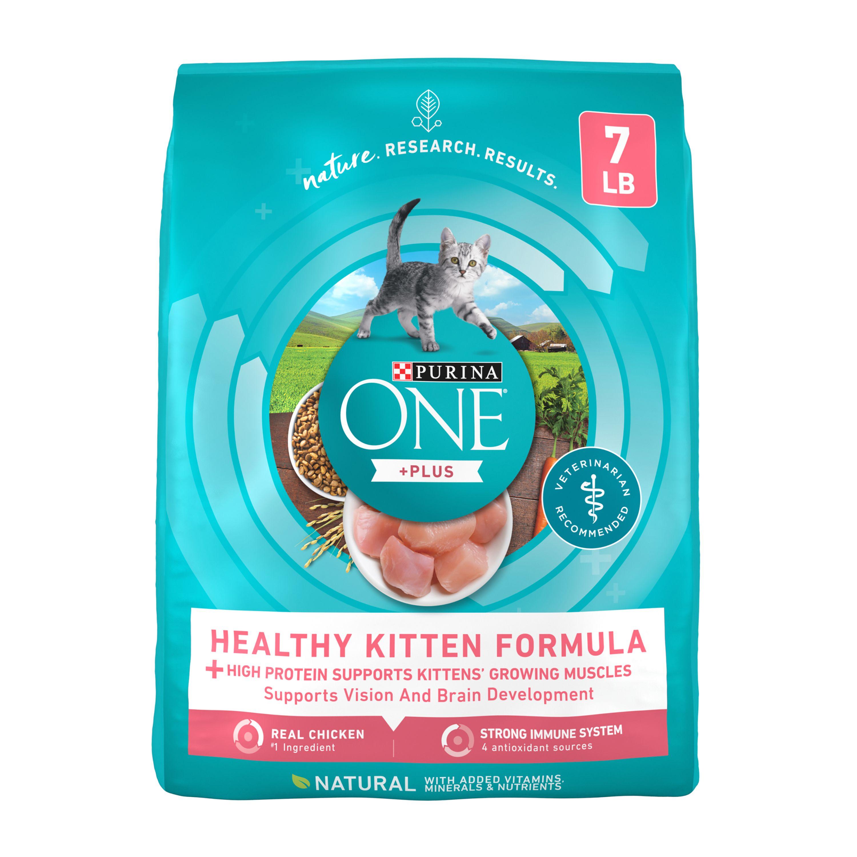Purina One Smartblend Healthy Kitten Formula Dry Kitten Food Cat Dry Food Petsmart