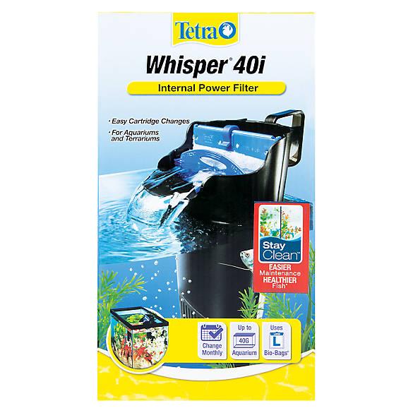 Tetra whisper in tank power aquarium filters fish for Petsmart fish tank filters