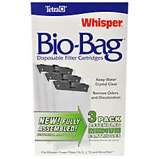 Tetra® Whisper Bio Bag 20-60 Filter Cartridges