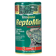 Tetrafauna Reptomin Select-a-Food Aquatic Turtle, Newt and Frog Food