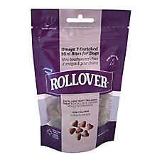 Rollover Omega 3 Enriched Mini Bites Dog Treat - Liver