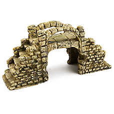 Top Fin® Rustic Bridge Aquarium Ornament