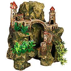 Top Fin® Domed Castle & Rock Aquarium Ornament
