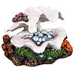 Top Fin® Clam Shell Aquarium Ornament