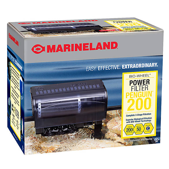 Marineland penguin 200b power filter fish filters for Petsmart fish filters