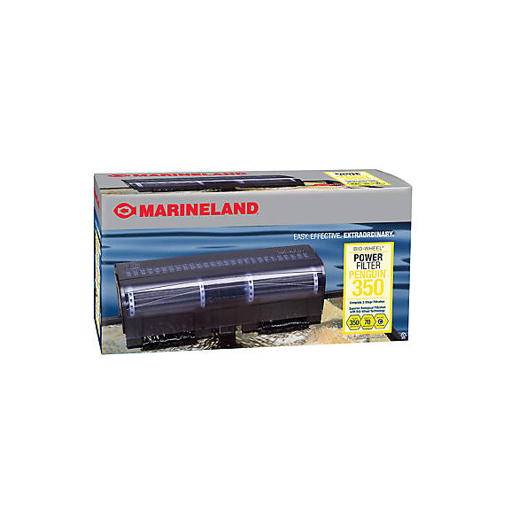 Marineland penguin 350b power filter fish filters for Petsmart fish filters