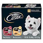 Cesar® Entrées Variety Pack Small Dog Food