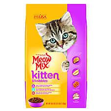 Meow Mix® Li'l Nibbles Kitten Food