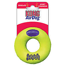 KONG® AirDog® Donut Squeaker Dog Toy
