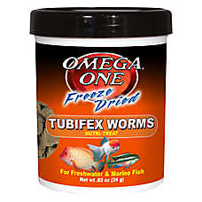 Omega™ One Freeze Dried Tubifex Worms Fish Treat