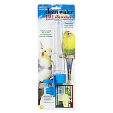 JW Pet® Insight Clean Water Silo Bird Waterer