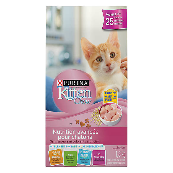 Cat And Kitten Combined Food Purina