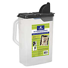grreat choice pet food storage dispenser