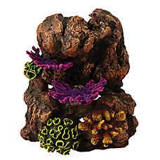 Top Fin® Fungus Rock Aquarium Ornament
