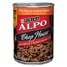Purina® ALPO® Chop House Originals® Adult Dog Food - Filet Mignon & Bacon