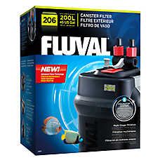Fluval external 206 canister filters fish filters for Petsmart fish tank filters