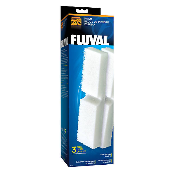 Fluval fx5 filter foam inserts aquarium filter media for Petsmart fish filters
