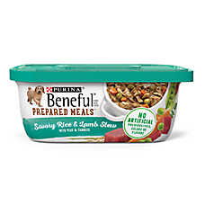 Purina® Beneful® Prepared Meals Dog Food - Savory Rice & Lamb Stew with Peas & Carrots