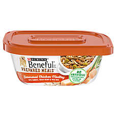 Purina® Beneful® Prepared Meals Dog Food - Chicken Medley with Green Beans, Carrots and Wild Rice
