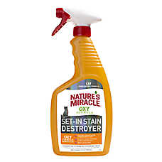 Nature's Miracle® Just For Cats Oxy Formula Dual Action Stain & Odor Remover