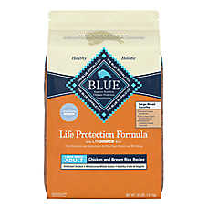 BLUE Life Protection Formula® Large Breed Adult Dog Food - Chicken & Brown Rice