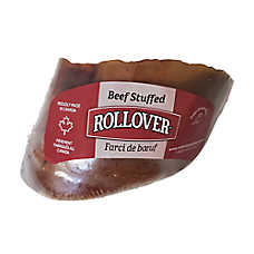 Rollover Stuffed Hooves Premium Dog Treats