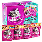 WHISKAS® CHOICE CUTS® Chef's Favorites Variety Pack Cat Food
