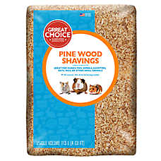 Grreat Choice® Natural Pine Small Pet Bedding