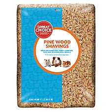 Grreat Choice® Natural Pine Wood Small Pet Bedding