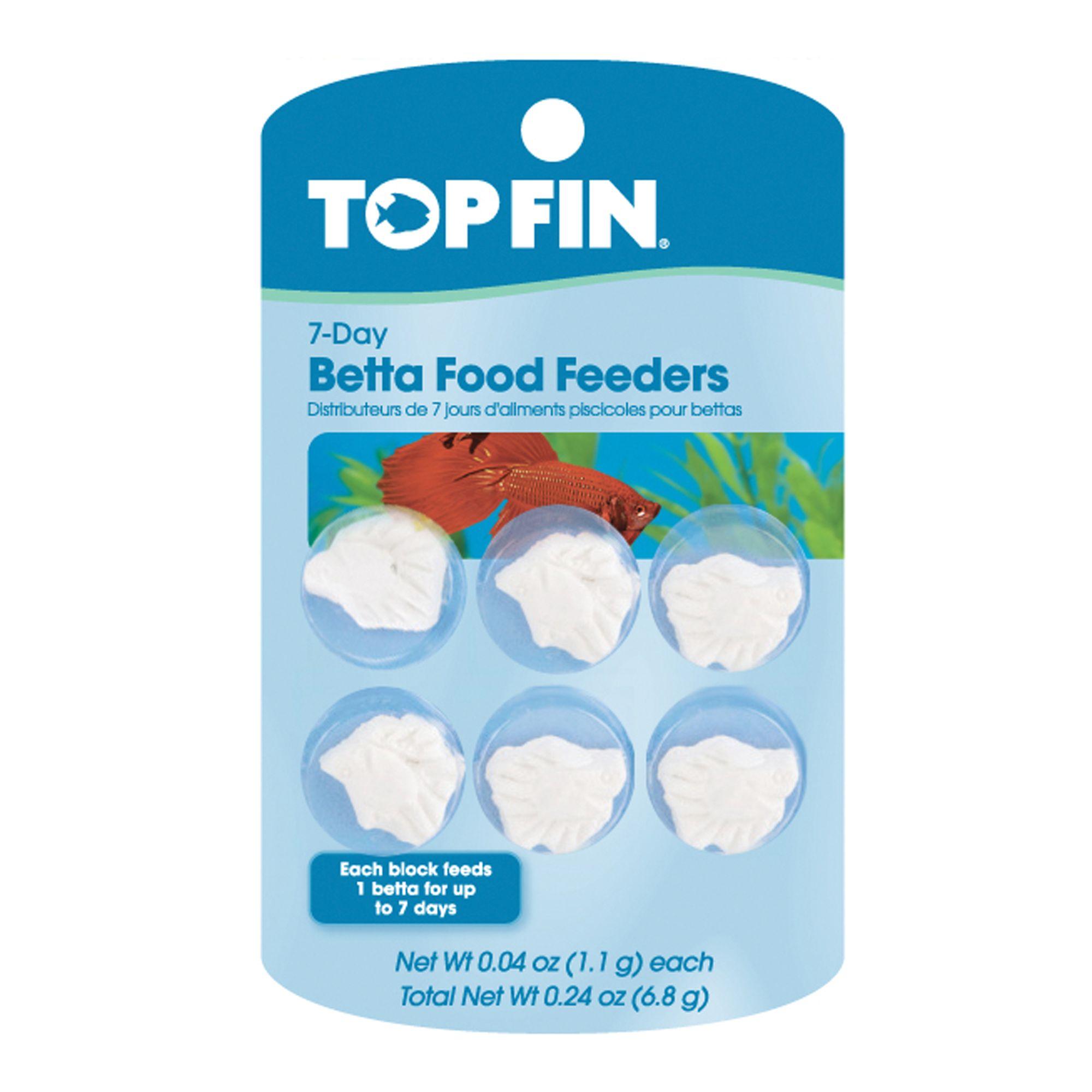 Top Fin 7 Day Betta Food Feeder Fish Feeders Petsmart
