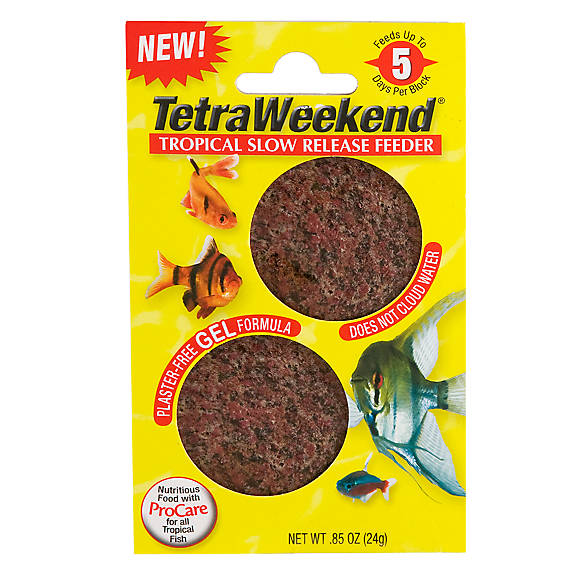 Tetra® TetraWeekend Slow Release Tropical Fish Feeder | Tuggl