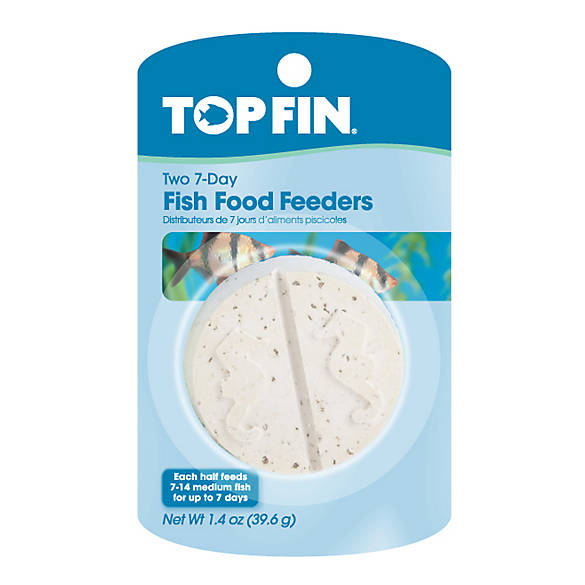 Top fin 7 day fish food feeder fish feeders petsmart for Best fish food