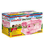 KAYTEE® CritterTrail One Level Pink Habitat