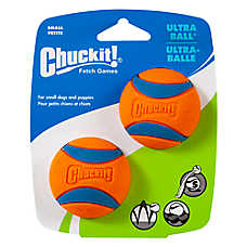 Chuckit!® Ultra Ball Dog Toy - 2 Pack