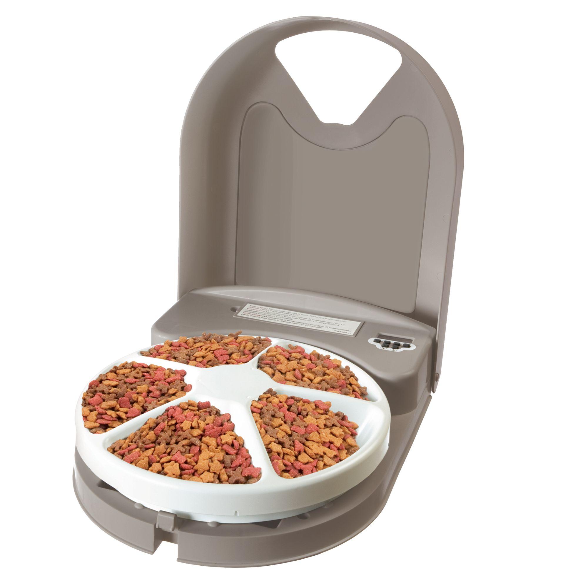 Petsafe Eatwell Trade 5 Meal Automatic Pet Feeder Cat Automatic Feeders Petsmart