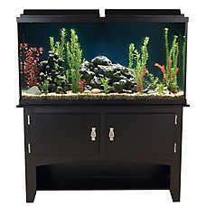 Marineland 60 gallon heartland aquarium ensemble fish for Petsmart fish tank stand