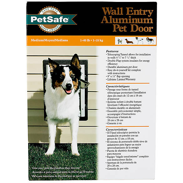 Petsafe Wall Entry Pet Door Dog Dog Doors Gates Petsmart